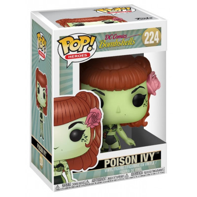 Фигурка DC Comics: Bombshells - POP! Heroes - Poison Ivy (9.5 см)