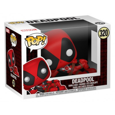 Головотряс Deadpool - POP! - Deadpool (9.5 см)