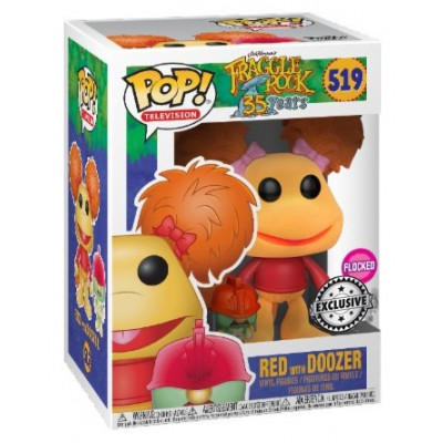 Фигурка Fraggle Rock: 35 Years - POP! TV - Red with Doozer (Exc) (9.5 см)