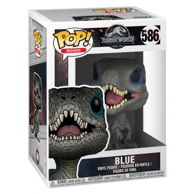 Фигурка Jurassic World: Fallen Kingdom - POP! Movies - Blue (9.5 см)