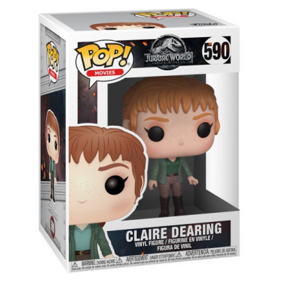 Фигурка Jurassic World: Fallen Kingdom - POP! Movies - Claire Dearing (9.5 см)