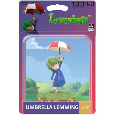 Фигурка TOTAKU Lemmings - Collection - Umbrella Lemming (10 см)