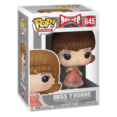 Фигурка Pee-wee's Playhouse - POP! TV - Miss Yvonne (9.5 см)