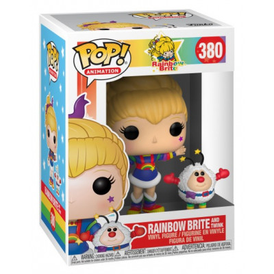 Фигурка Rainbow Brite - POP! Animation - Rainbow Brite and Twink (9.5 см)
