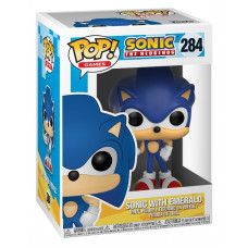 Фигурка Sonic the Hedgehog - POP! Games - Sonic with Emerald (9.5 см)