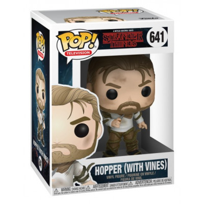 Фигурка Stranger Things - POP! TV - Hopper (with Vines) (9.5 см)