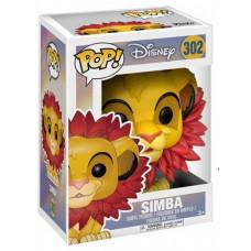 Фигурка The Lion King - POP! - Simba (Leaf Mane) (9.5 см)