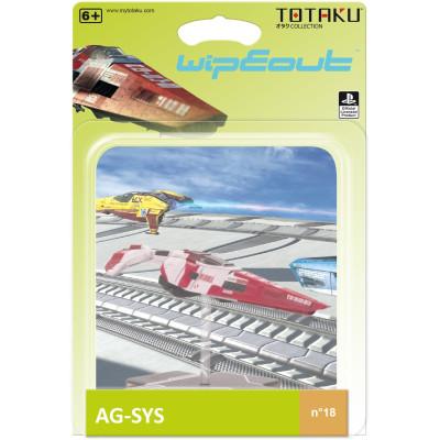 Фигурка WipEout - TOTAKU Collection - AG-SYS Ship (10 см)