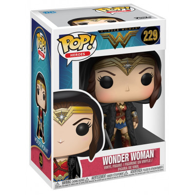 Фигурка Wonder Woman - POP! Heroes - Wonder Woman (with Cloak) (9.5 см)