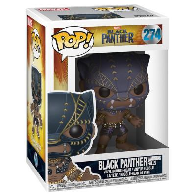 Головотряс Black Panther - POP! - Black Panther Warrior Falls (9.5 см)