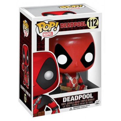 Головотряс Deadpool - POP! Marvel - Deadpool (Gun) (9.5 см)