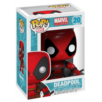Головотряс Marvel Universe - POP! Marvel - Deadpool (9.5 см)