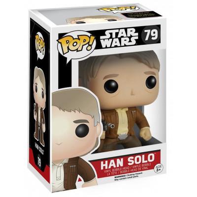 Головотряс Star Wars: Episode VII The Force Awakens - POP! - Han Solo (9.5 см)