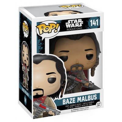 Головотряс Star Wars: Rogue One - POP! - Baze Malbus (9.5 см)