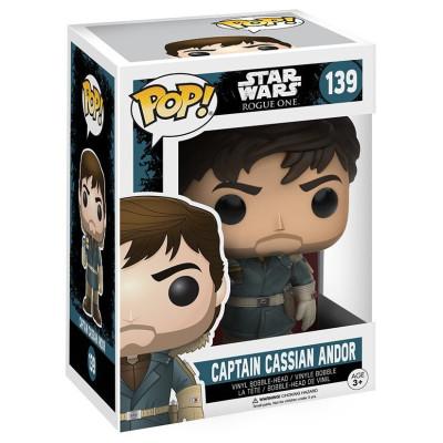 Головотряс Star Wars: Rogue One - POP! - Captain Cassian Andor (9.5 см)