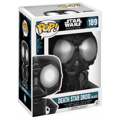 Головотряс Star Wars: Rogue One - POP! - Death Star Droid (Black) (9.5 см)