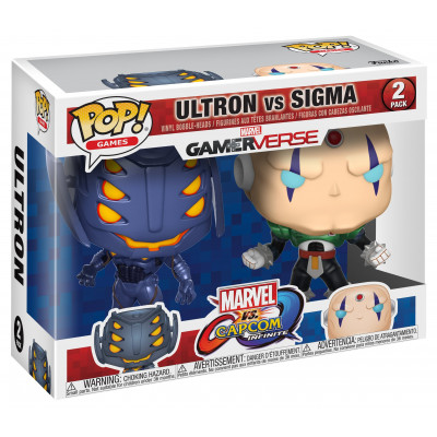 Набор головотрясов Marvel vs Capcom: Infinite - POP! Games - Ultron vs Sigma (9.5 см)