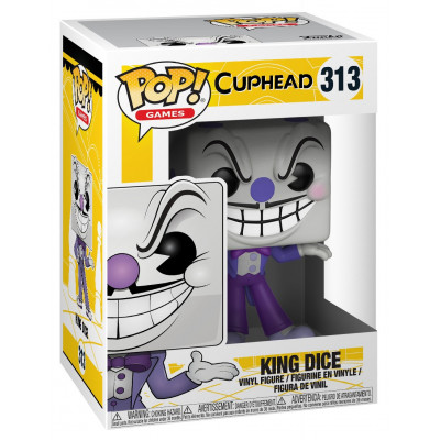 Фигурка Cuphead - POP! Games - King Dice (9.5 см)