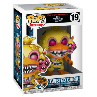 Фигурка Five Nights at Freddy's: The Twisted Ones - POP! Books - Twisted Chica (9.5 см)