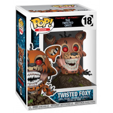 Фигурка Five Nights at Freddy's: The Twisted Ones - POP! Books - Twisted Foxy (9.5 см)