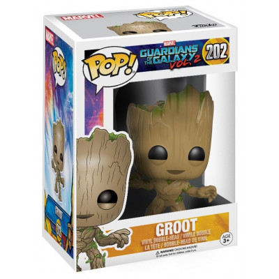 Головотряс Guardians of the Galaxy Vol.2 - POP! - Groot (9.5 см)