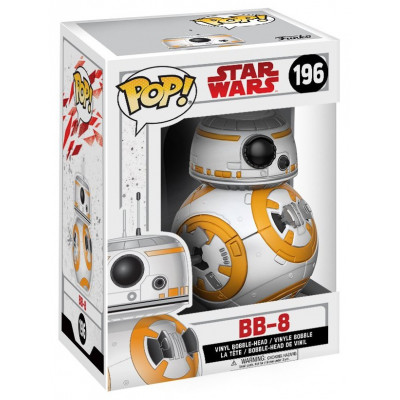 Головотряс Star Wars: Episode VIII The Last Jedi - POP! - BB-8 (9.5 см)