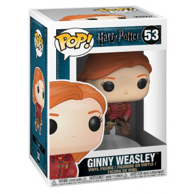 Фигурка Harry Potter - POP! - Ginny Weasley (on Broom) (9.5 см)