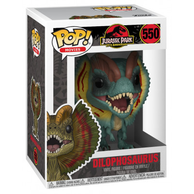 Фигурка Funko Jurassic Park 25th Anniversary - POP! Movies - Dilophosaurus 26736 (9.5 см)