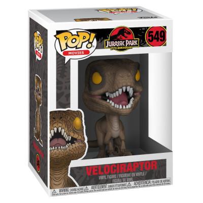 Фигурка Jurassic Park 25th Anniversary - POP! Movies - Velociraptor (9.5 см)