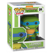 Фигурка Teenage Mutant Ninja Turtles - POP! 8-Bit - Leonardo (9.5 см)