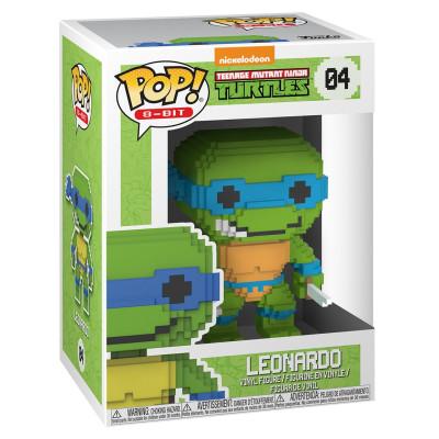 Фигурка Teenage Mutant Ninja Turtles - POP! 8-Bit - Leonardo (9.5 см)