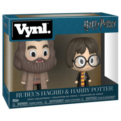 Набор фигурок Harry Potter - Vynl - Rubeus Hagrid & Harry Potter (10 см)