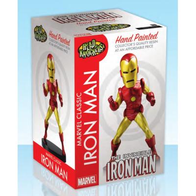 Головотряс Marvel Classic - Hand Painted - The Invincible Iron Man (20 см)
