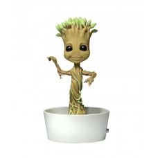 Телотряс Guardians of the Galaxy - Dancing Potted Groot (на солнечной батарее, 15 см)