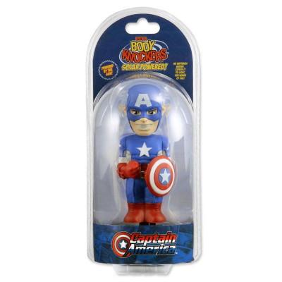 Фигурка NECA Телотряс Marvel Comics - Captain America (на солнечной батарее) (15 см)