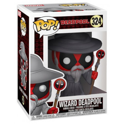 Головотряс Deadpool - POP! - Wizard Deadpool (9.5 см)
