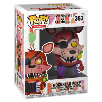 Фигурка Five Nights at Freddy's - POP! Games - Rockstar Foxy (9.5 см)