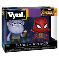 Набор фигурок Avengers: Infinity War - Vynl - Thanos + Iron Spider (9.5 см)