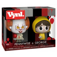 Набор фигурок IT - Vynl - Pennywise + Georgie (9.5 см)