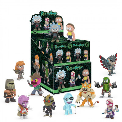 Фигурка Rick & Morty: Series 2 - Mystery Minis (1 шт, 7.5 см)