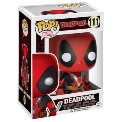 Фигурка Funko Головотряс Deadpool - POP! Marvel - Deadpool (Two Swords) (Exc) 7486 (9.5 см)