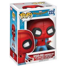 Головотряс Spider-Man: Homecoming - POP! - Spider-Man (Homemade Suit) (9.5 см)