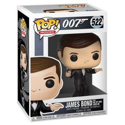 Фигурка 007 - POP! Movies - James Bond from The Spy Who Loved Me (9.5 см)