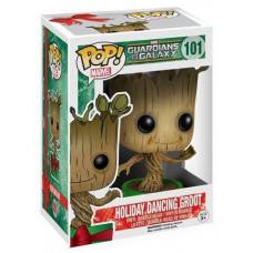 Головотряс Guardians of the Galaxy - POP! Marvel - Holiday Dancing Groot (9.5 см)