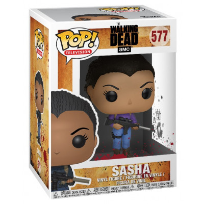 Фигурка The Walking Dead - POP! TV - Sasha (9.5 см)