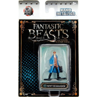Фигурка Fantastic Beasts and Where to Find Them - Nano Metalfigs - Newt Scamander (4 см)