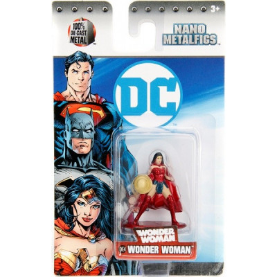 Фигурка DC Comics - Nano Metalfigs - Wonder Woman (4 см)