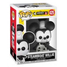 Фигурка Mickey: The True Original (90 Years) - POP! - Steamboat Willie (9.5 см)