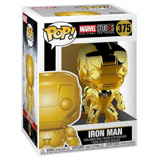 Головотряс Marvel Studios: The First Ten Years - POP! - Iron Man (Gold Chrome) (9.5 см)