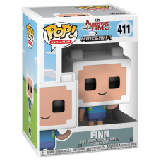Фигурка Adventure Time x Minecraft - POP! Animation - Finn (9.5 см)